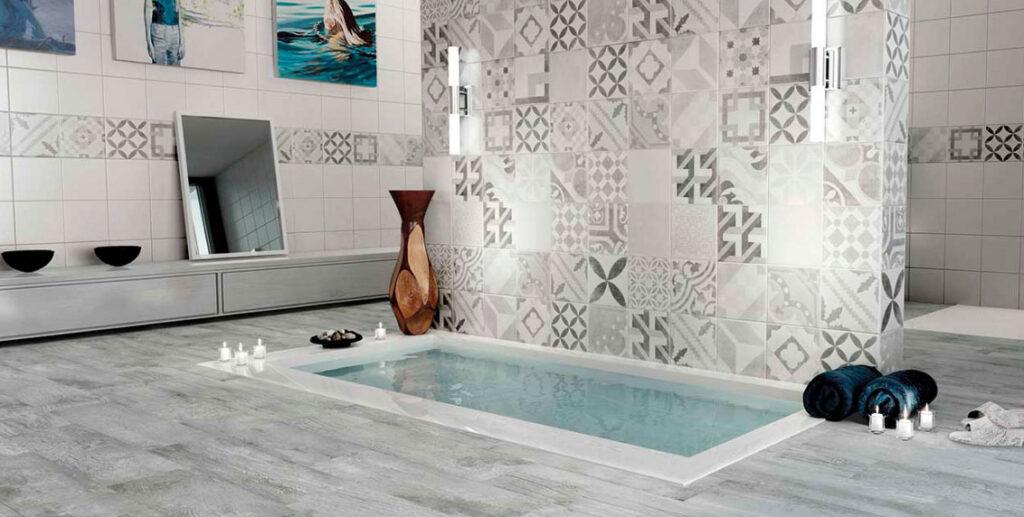 azulejos vintage de baño en Granada